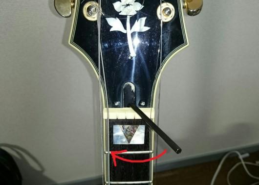ギター 修理