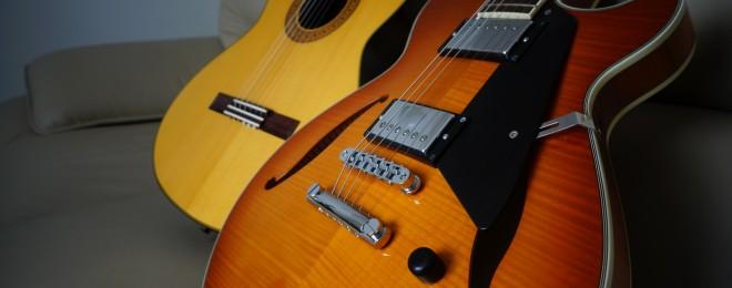 ギター宣材写真